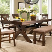 Powell Kraven Extendable Dining Table