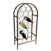 Old Dutch 27 Bottle Wine Rack; Matte Black