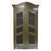 Zentique Christopher Office Storage Cabinet; Green