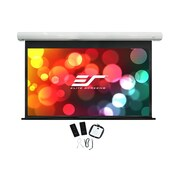 Elite Screens Saker White 150'' diagonal Electric Projection Screen