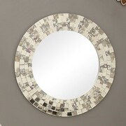 Woodhaven Hill Reflective Wall Mirror
