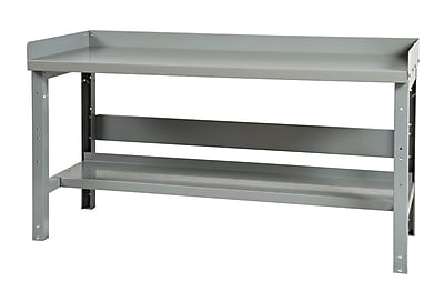 Parent Metal Products Height Adjustable Steel Workbench; 34.75'' H x 60'' W x 36'' D