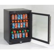 Avanti 4.8 cu. ft. Undercounter Beverage Center with Glass Door