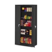 Tennsco 2 Door Storage Cabinet; Black