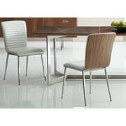 Bellini Modern Living Fernanda Side Chair (Set of 2); Pearl White