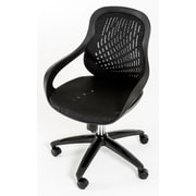 VIG Furniture Modrest Mid-Back Mesh Office Chair; Black