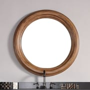 James Martin Furniture Malibu Mirror; 40''H x 40''W x 2.7''D