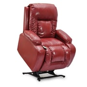 Med-Lift Showtime Wide Wall-a-Way Reclining Lift Chair; Red