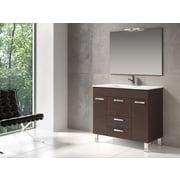 Eviva Venus  36'' Single Modern Bathroom Vanity Set; Wenge