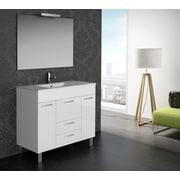 Eviva Venus  36'' Single Modern Bathroom Vanity Set; White