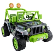 Fisher-Price Power Wheels Nickelodeon Teenage Mutant Ninja Turtles Wrangler 12V Battery Powered Jeep