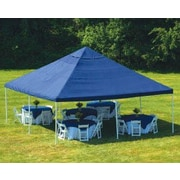 ShelterLogic 20' x 20' Decorative 8 Leg Canopy 2'' Frame with Blue Cover