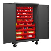 Durham Manufacturing 80'' H x 48'' W x 24'' D Lockable Mobile Cabinet