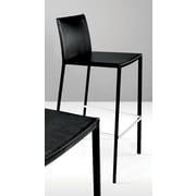 Modloft Sanctuary 30'' Bar Stool with Cushion; Black