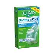 CURAD® Sooth & Cool Assorted Bandages, 8 Count