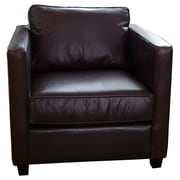 Elements Fine Home Furnishings Urban Top Grain Leather Standard Arm Chair