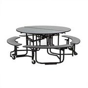 KI Furniture Uniframe 82'' Round Cafeteria Table