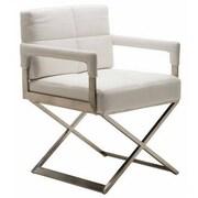 Nuevo Jack Arm Chair; White