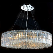 Worldwide Lighting Cascade 18 Light Crystal Chandelier