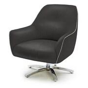 VIG Furniture Divani Casa Clover Modern Eco-Leather Arm Chair