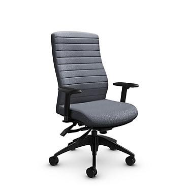 Global® (2851-3 MT30) Aspen High Back Multi Tilter, Match Grey Fabric, Grey