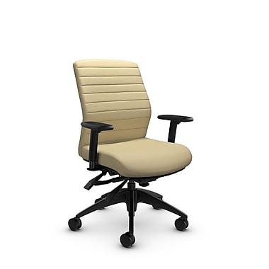 Global® (2852-3 IM70) Aspen Mid Back Multi Tilter, Imprint