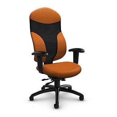 Global® (1950-3 MT23) Tye High Back Multi Tilter, Match Orange Fabric, Orange