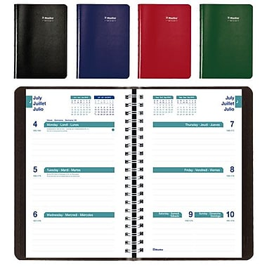 Blueline® 2016/2017 Academic Weekly Planner, 8