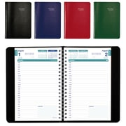"""Brownline 2016/2017 Academic Daily Appointment Planner, 8"""" x 5"""", English, Assorted"""