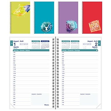 Blueline® 2016/2017 Academic Daily Appointment Planner, 8