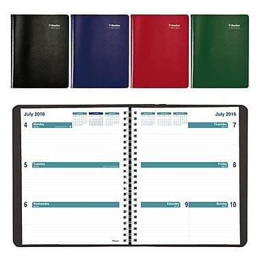Blueline® - Agenda scolaire hebdomadaire 2016/2017, 9 1/4 po x 7 1/4 po, anglais, couleurs variées