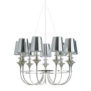 Nuevo Getty Pendant Lamp in Chrome