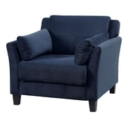 A&J Homes Studio Fabric Arm Chair; Navy