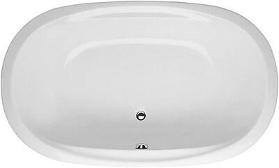 Hydro Systems Builder Duo Oval 66'' x 44'' Whirlpool Bathtub; White WYF078278635505