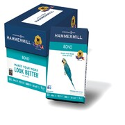 "IP Hammermill® 8 1/2"" x 11"" 24 lbs. Multipurpose Bond Paper, White, 500/Ream"