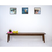 Moderncre8ve Santa Monica Wood Kitchen Bench