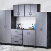 TuffStor Tuff-Stor Tough Storage 7.5' H x 10' W x 2' D 6 Piece Storage System