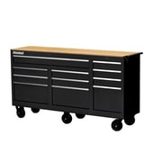 International Workshop Series 72.75''W 11-Drawer Middle Chest; Red