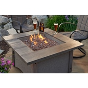 The Outdoor GreatRoom Company Pine Ridge Propane Fire Pit Table