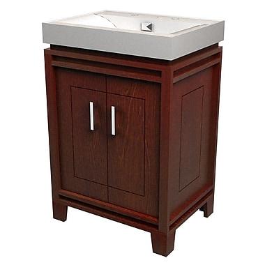 D 39 vontz bartone 24 39 39 vitreous ensemble bathroom vanity set for Dvontz bathroom vanity