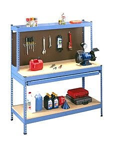 Tennsco Rivet Style Workbench; 30'' D