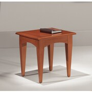 Flexsteel Contract Belmont 24'' End Table; Executive Cherry