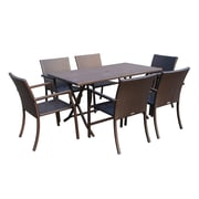 Jeco Inc. Cafe 7 Piece Dining Set