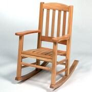 Georgia Chair Company Juvenile Rocking Chair; Natural