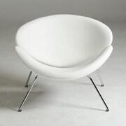 VIG Furniture Modrest Anais Contemporary Accent Chair; White