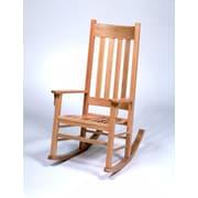 Georgia Chair Company Rocking Chair; Amber Cherry