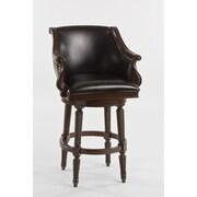 Hillsdale Hepburn 26'' Swivel Bar Stool with Cushion