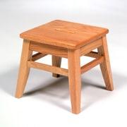 Georgia Chair Company Library Solid Oak Classroom Stool; Amber Cherry