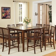 Steve Silver Furniture Branson Counter Height Dining Table; Multi-Step Rich Espresso