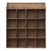 Creative Co-Op Grange 16 Compartment Cubby